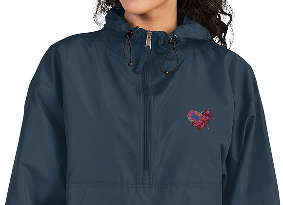 the future is ours Embroidered Champion Packable Jacket