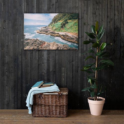 Oregon Ocean Canvas
