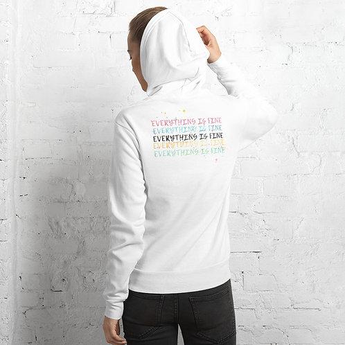 Everything is fine Unisex hoodie