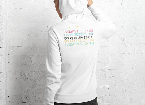 Everything is fine Unisex hoodie