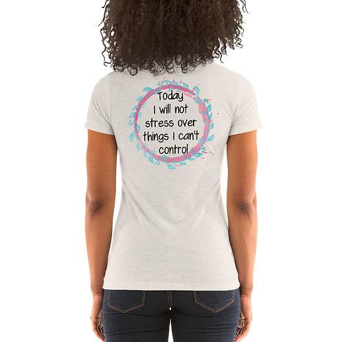 Stress Free Ladies' short sleeve t-shirt