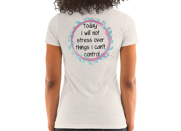 Stress Free Ladies' short sleeve t-shirt