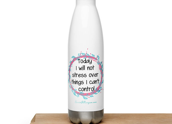 Stress Free Stainless Steel Water Bottle