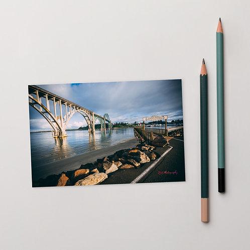 Newport Bayfront Standard Postcard