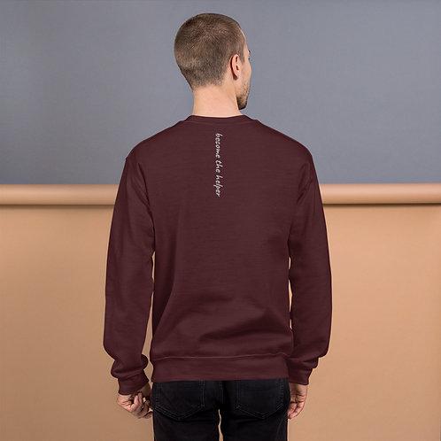 become the helper Unisex Sweatshirt