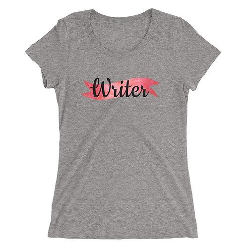 Writer Ladies' short sleeve t-shirt
