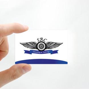 SRC logo and business card design