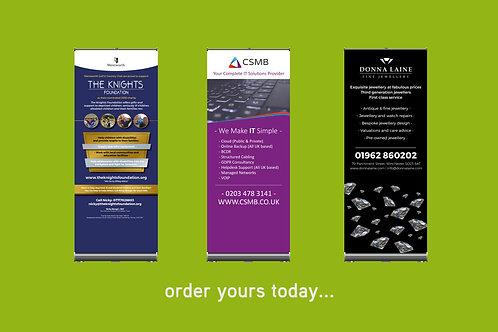 Roller Banner - Designed & Printed