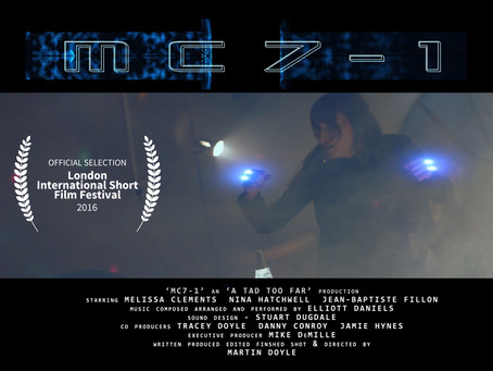 'MC7-1' has been accepted into the 'London International Film Festival'.