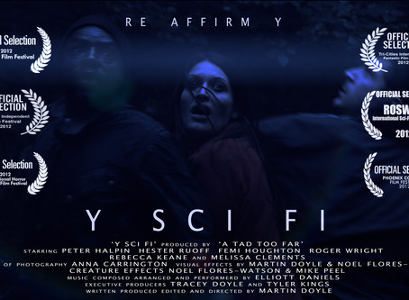 My Festival Short 'Y SCI FI' is now online to watch!