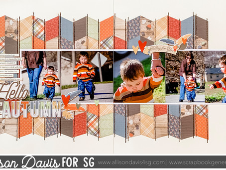 """Scrapbooking How to: Creating Patterns with 6 x 6"""" Papers"""