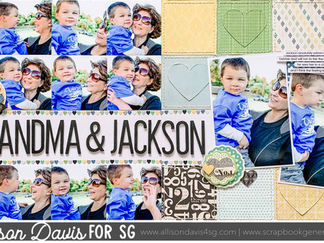 Scrapbooking Quick Tip: Adding an Easy and Subtle Detail to Your Design