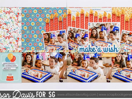 Scrapbooking How To: Birthday Candles