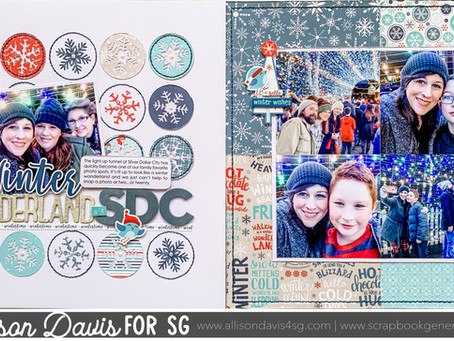 Scrapbooking Design Tip: An Easy Way to Create Balance on a Two-page Layout