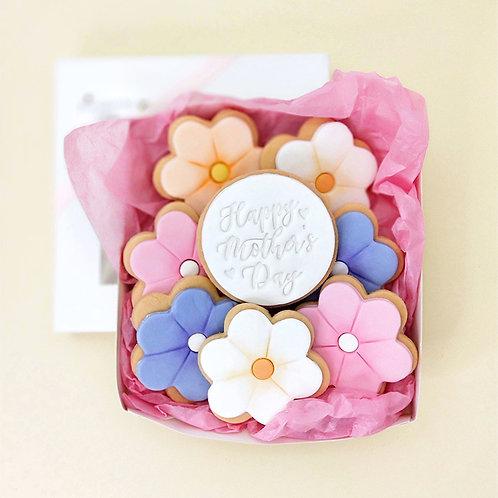 Customised Flower cookie set