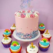 Unicorn Cake and cupcakes.jpg