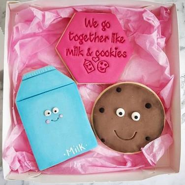 Valentines Day milk and cookies.JPG
