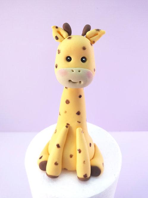 Step-by-step Cake Topper Tutorial - Baby Giraffe