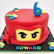 Ninja Lego kids Cake.JPG