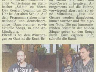 Badisches Tagblatt, vom 24.5.2017