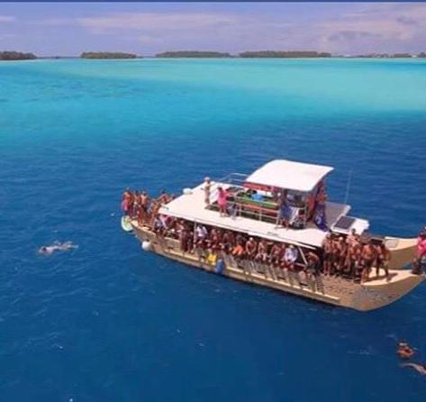 Bora Bora Ironmana Tour/Open Water Swim Race