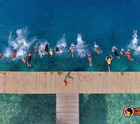 Huahine Swim Race