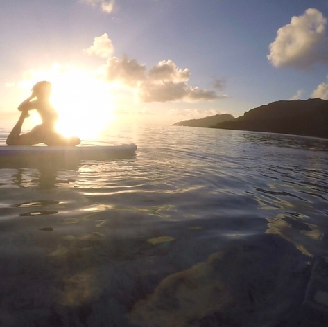 Huahine Sunset Yoga