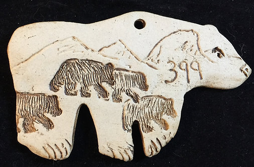 #4 Grizzly 399 ornament