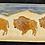 Thumbnail: Winter Bison Tray - Medium