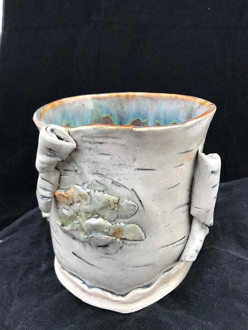 Birch (vase, wine chiller, utensil holder)