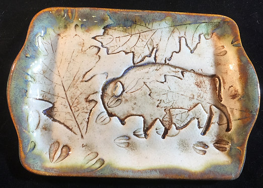 Small Bison Tray