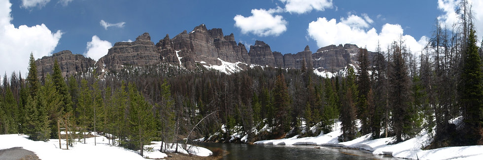 Brooks Creek, Wyoming