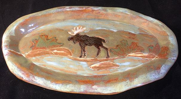 Moose Oval Tray