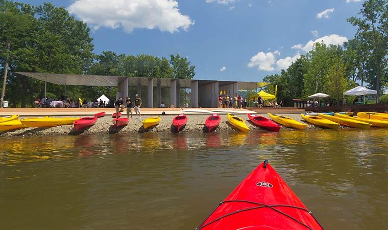 kayaking long dock park, beacon ny