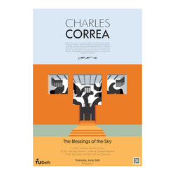 Charles Correa Posters