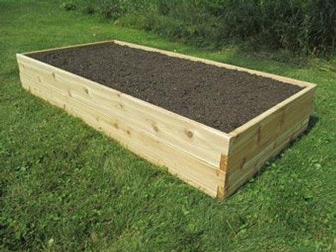 4' x 8' Cedar Raised Bed