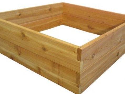 4' x 4' Cedar Raised Bed