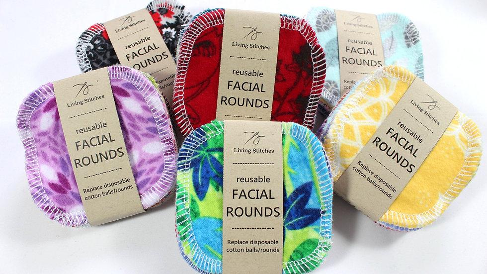 Facial Rounds - Mixed Prints
