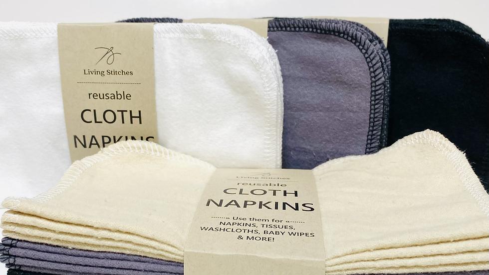 Cloth Napkins - Solids