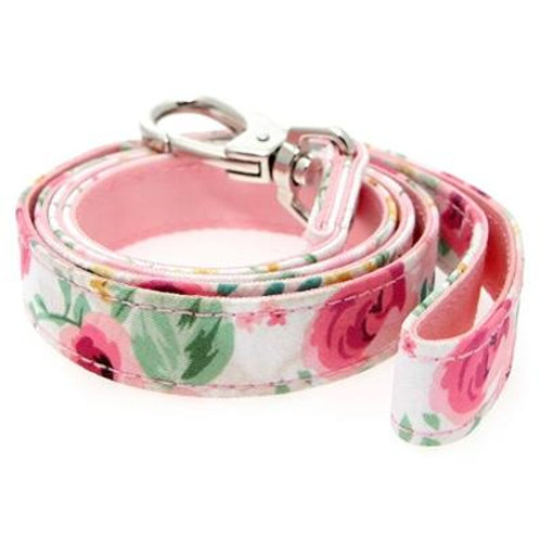 Urban Pup Pink Floral Cascade Lead