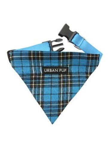 Urban Pup Blue Tartan Bandana