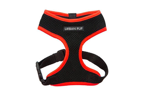 Urban Pup Active Mesh Red Harness