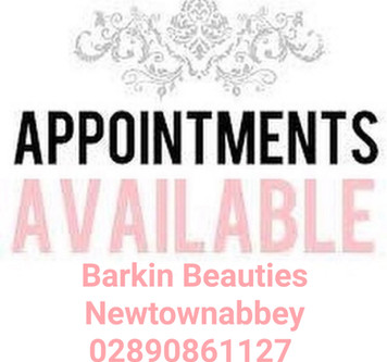 Available appointments
