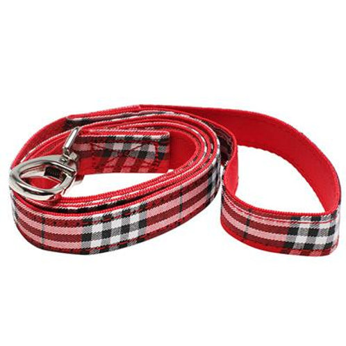 Urban Pup Red Tartan Lead