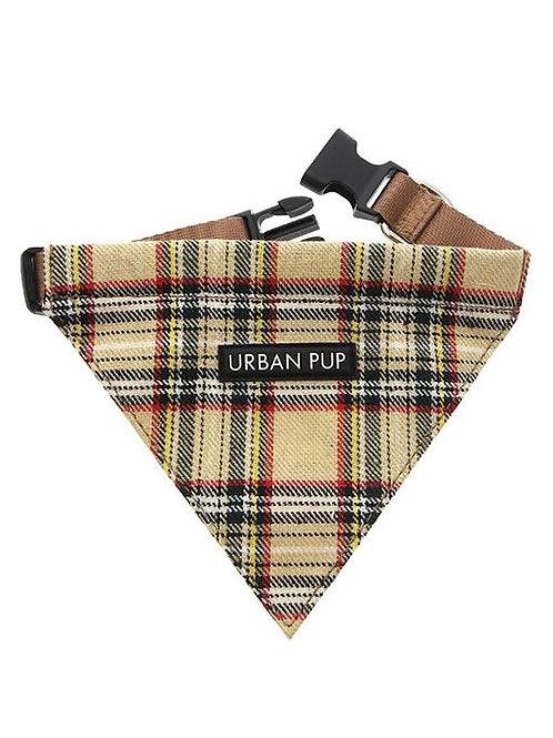 Urban Pup Brown Tartan Bandana
