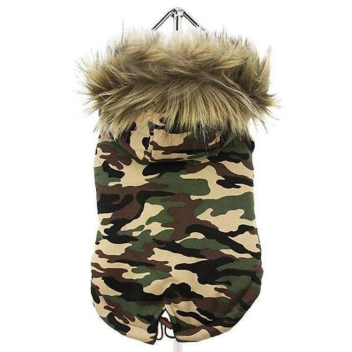 Urban Pup Camouflage Parka Coat