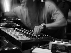 DJ Mixing B&W