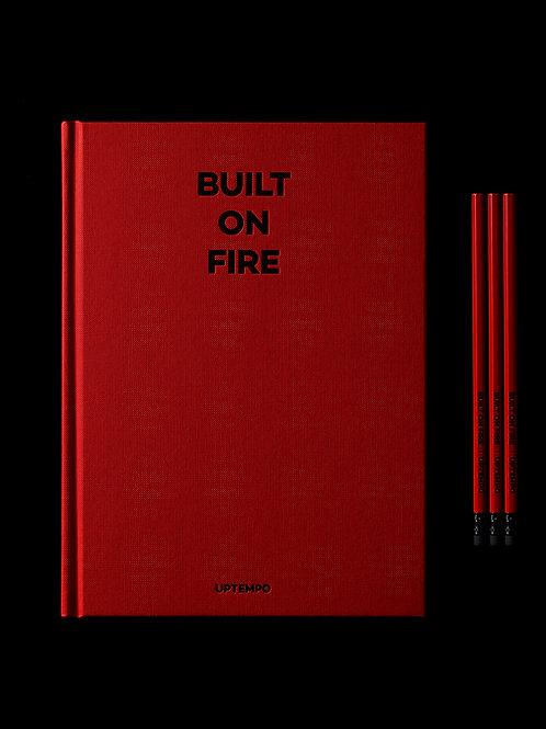 BUILT ON FIRE BOOK