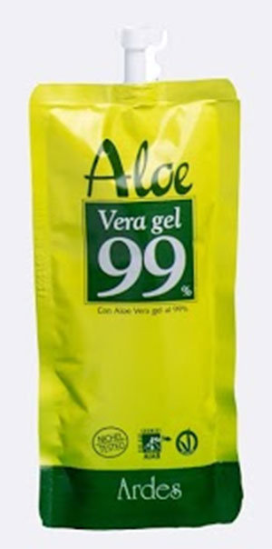 ALOE VERA GEL 99% - BUSTA RICHIUDIBILE  50 ml