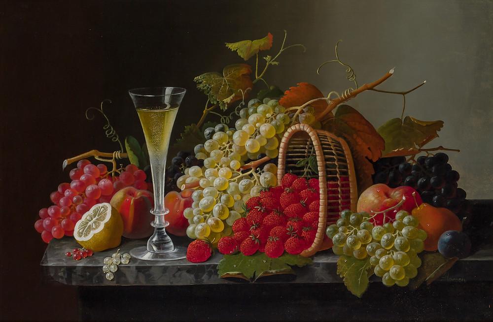 19th century still-life painting